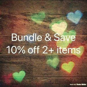 Bundle Your Likes and Save At Least 10% Per Item!